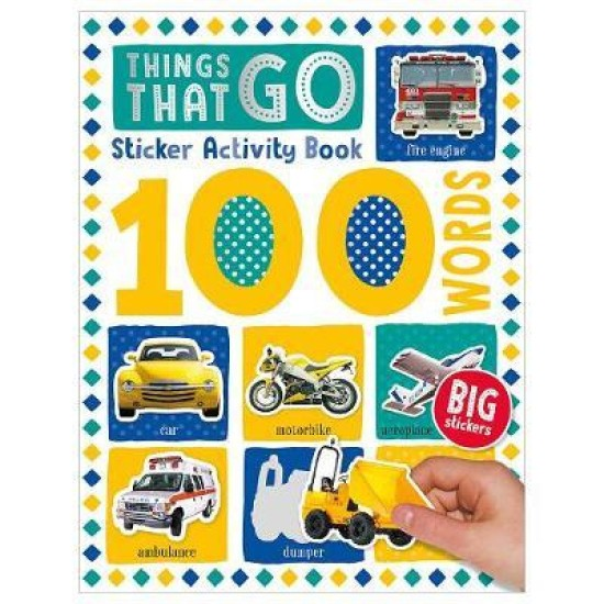 100 Things That Go Words Sticker Activity