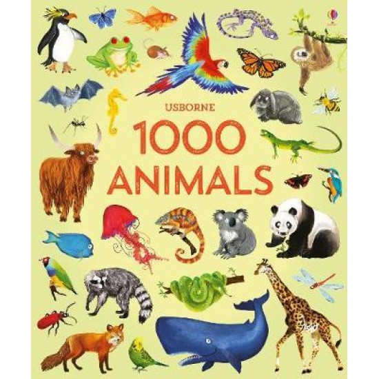 1000 Animals (Usborne)