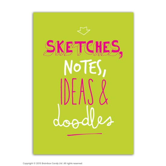 A5 Lined Notebooks - Sketches, Notes, Ideas & Doodles
