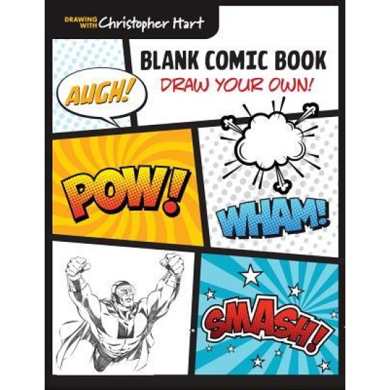 Blank Comic Book : Draw Your Own!