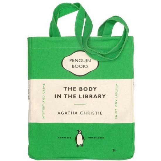 Book Bag - The Body in the Library (Agatha Christie)