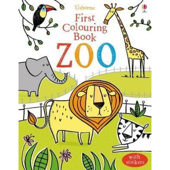 First Colouring Zoo
