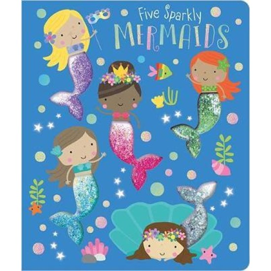 Five Sparkly Mermaids