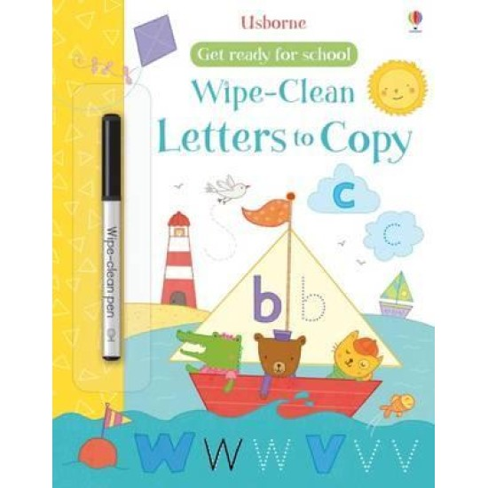 Get Ready for School Wipe Clean Letters to Copy