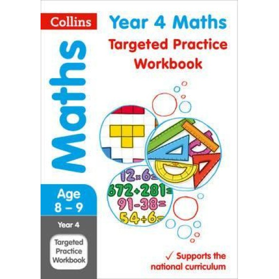 KS2: Year 4 Maths Targeted Practice Workbook